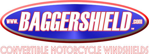 BaggerShield Convertible Motorcycle Windshields